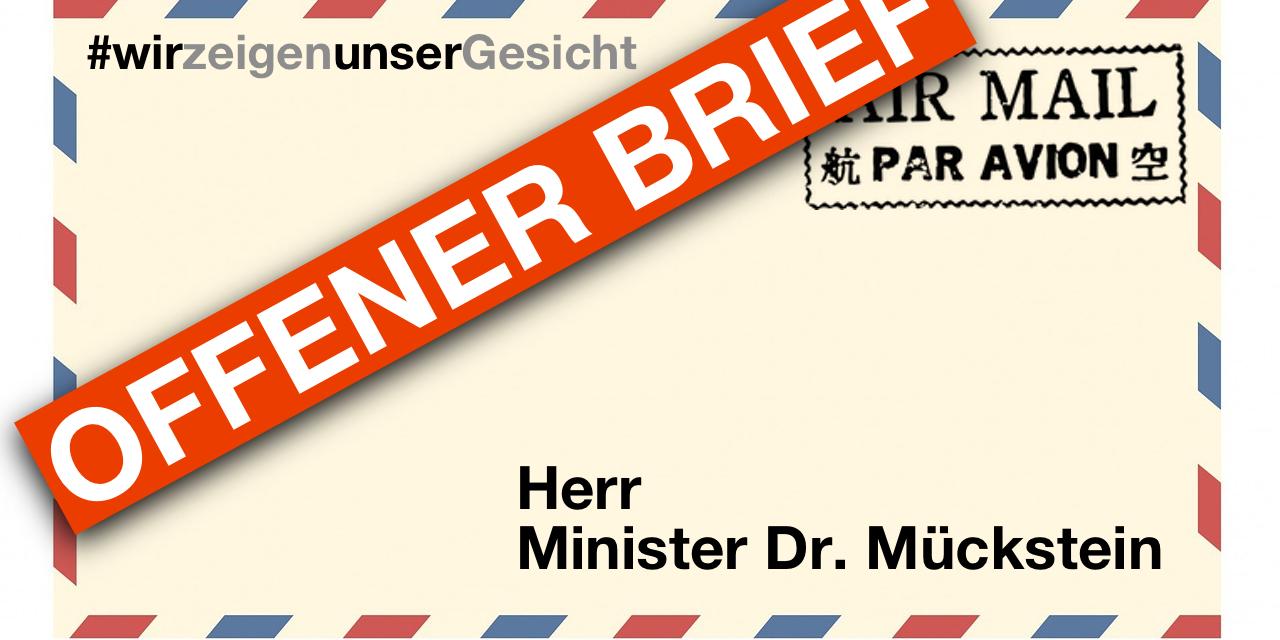 Offener Brief Mückstein